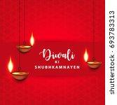 happy diwali  vector...   Shutterstock .eps vector #693783313