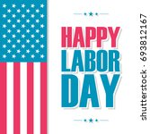happy labor day celebration... | Shutterstock .eps vector #693812167