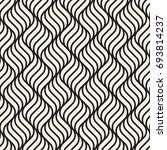seamless pattern with geometric ... | Shutterstock .eps vector #693814237