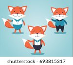set of vector illustrations of... | Shutterstock .eps vector #693815317