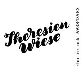 theresienwiese hand drawn... | Shutterstock .eps vector #693848983