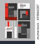 vector minimalistic cover... | Shutterstock .eps vector #693860287