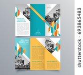 brochure design  brochure... | Shutterstock .eps vector #693865483