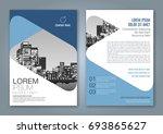 abstract minimal geometric... | Shutterstock .eps vector #693865627