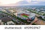 uk  manchester   august 07 ... | Shutterstock . vector #693903967