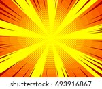 high quality comic book style... | Shutterstock .eps vector #693916867