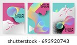 colorful modern abstract... | Shutterstock .eps vector #693920743