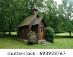 Tiny Chapel In The Woods