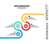 infographics business marketing ... | Shutterstock .eps vector #693952777
