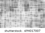 grunge halftone black and white.... | Shutterstock . vector #694017007