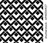 seamless abstract lattice... | Shutterstock .eps vector #694054927