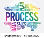 process word cloud collage ... | Shutterstock .eps vector #694063027