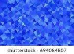 light blue vector bent pattern. ... | Shutterstock .eps vector #694084807