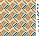 seamless abstract pattern with... | Shutterstock .eps vector #694095217