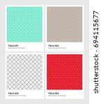 seamless vector pattern... | Shutterstock .eps vector #694115677
