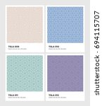 seamless vector pattern... | Shutterstock .eps vector #694115707