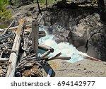 In A Jam   Upper Logjam Falls ...