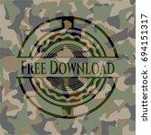free download camouflaged emblem