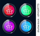 conveyor four color glass...