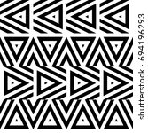 vector seamless pattern....   Shutterstock .eps vector #694196293