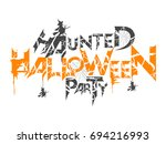 nice and horror abstract for... | Shutterstock .eps vector #694216993