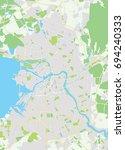 vector map saint petersburg ...   Shutterstock .eps vector #694240333