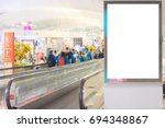beauty  full blank advertising... | Shutterstock . vector #694348867