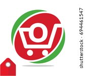 logo icon for shopping business ...