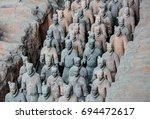 xian  china   august 1  2017 ...   Shutterstock . vector #694472617