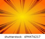 abstract comic book background  ... | Shutterstock .eps vector #694476217