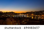 porto  portugal   october 20 ... | Shutterstock . vector #694483657