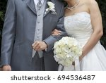 bridal image  splendid and... | Shutterstock . vector #694536487