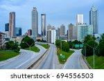 atlanta  georgia  usa   june 5  ... | Shutterstock . vector #694556503