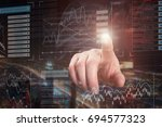 a successful business concept   Shutterstock . vector #694577323
