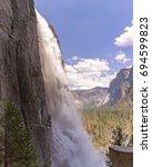 Yosemite Falls Up Close And...