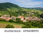 saschiz  transylvania  romania. ...   Shutterstock . vector #694648093