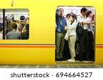 tokyo  japan   august 10  2016  ... | Shutterstock . vector #694664527