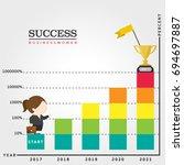 business women    Shutterstock .eps vector #694697887