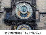 Astronomical Clock At City Hal...