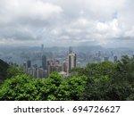the peak in hongkong | Shutterstock . vector #694726627