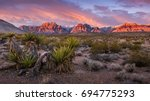 Sunrise At Red Rock Canyon ...
