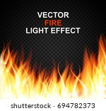 burning fire special light... | Shutterstock .eps vector #694782373