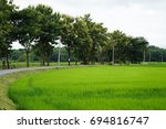 the countryside of thailand | Shutterstock . vector #694816747