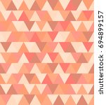 texture of colored triangles... | Shutterstock . vector #694899157