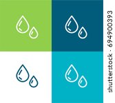 water green and blue material... | Shutterstock .eps vector #694900393