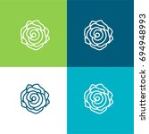 rose green and blue material... | Shutterstock .eps vector #694948993