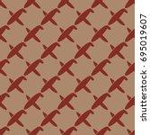 seamless pattern of aircraft...
