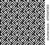 seamless abstract lattice... | Shutterstock .eps vector #695069383