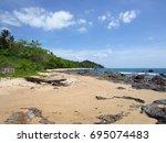 krabi   thailand   march 11...   Shutterstock . vector #695074483
