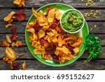 Home Made Vegetable Crisps Fro...